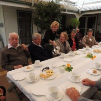 Devonshire Tea at Burrabliss served by your host Tricia