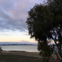 View over Lake Boga
