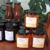 Tricia's preserves hand made from local produce